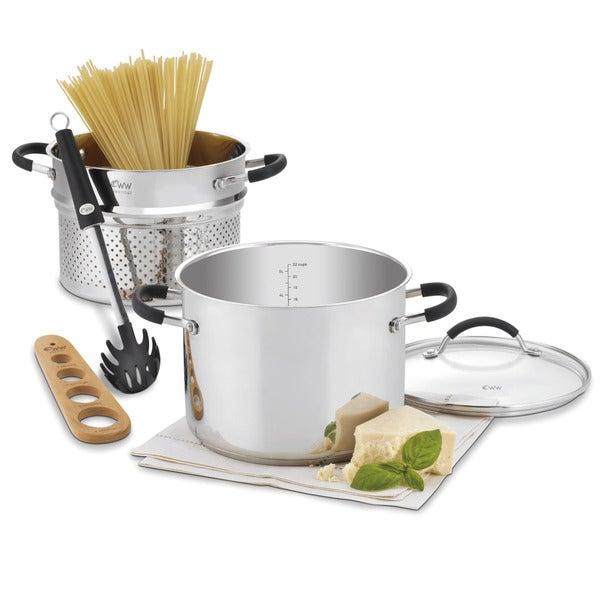 Cuisinart Weight Watchers Stainless 3-piece Steamer Set