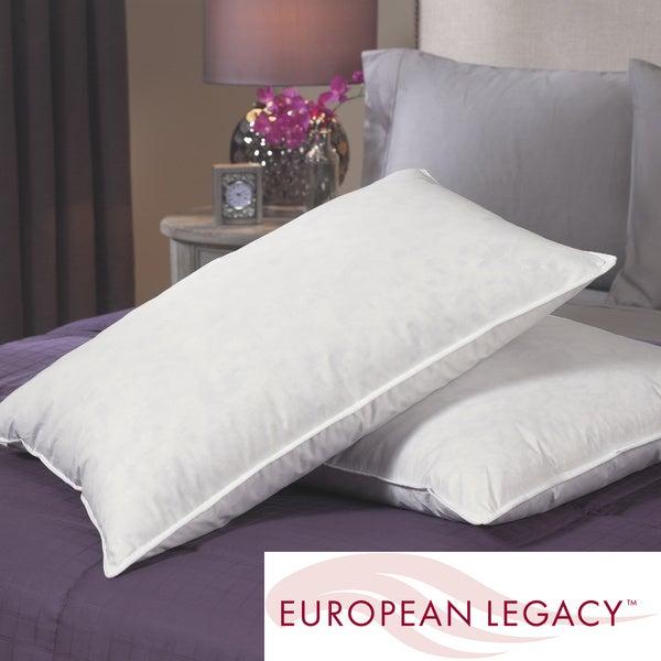 European Legacy Ultimate Comfort Euro-Down Blend Pillows (Set of 2)