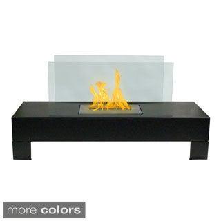 Gramercy Indoor/ Outdoor Floor Standing Ethanol Fireplace