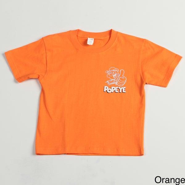 Printed 'Popeye' Boys' Tee Shirt
