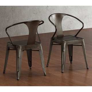 Vintage Tabouret Stacking Chairs (Set of 4)