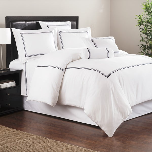 Baratto White Admiralty 3-piece Duvet Set