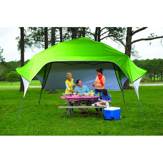 Sports and Toys by O Fast Set Instant Pop Up Wing Canopy with Adjustable Rear Wall (10' x 10') at Sears.com
