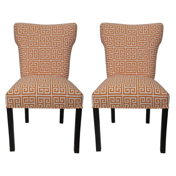 Amelia Chain Wingback Chairs (Set of 2)