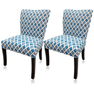 Blue Nile Wingback Chairs (Set of 2)
