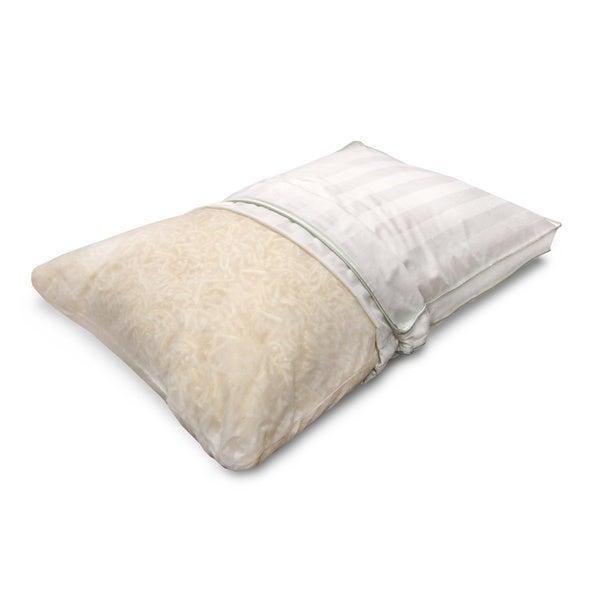 SwissLux Springs Jumbo-size Latex Bed Pillow
