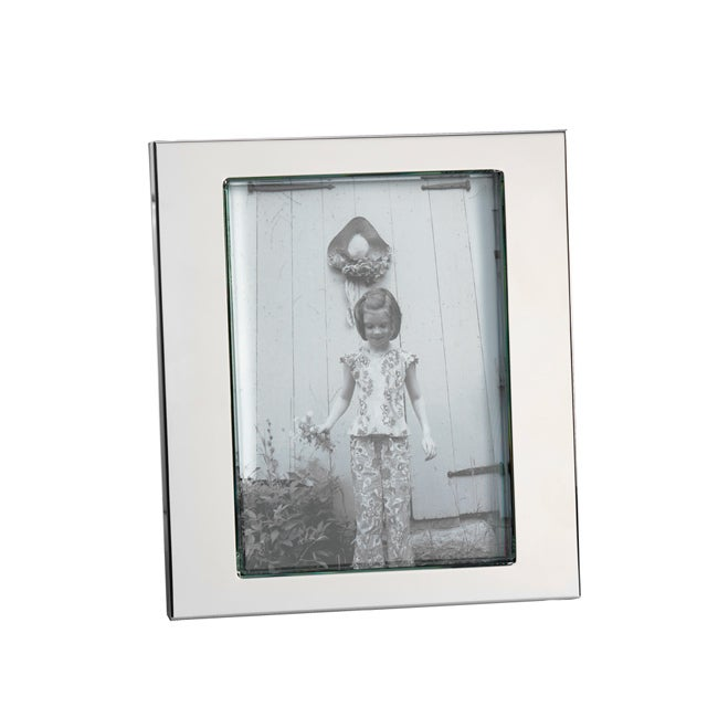 towle thick glass photo frame 5x7 overstock shopping