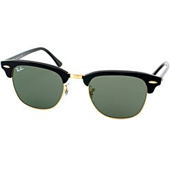 Ray-Ban Unisex 'Clubmaster W0365' Round Sunglasses