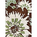 Alliyah Hand-tufted Antique White Wool Rug (5' x 8')