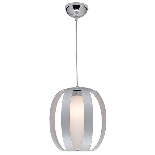 Access 'Helix' Aluminum Finish One-light Pendant