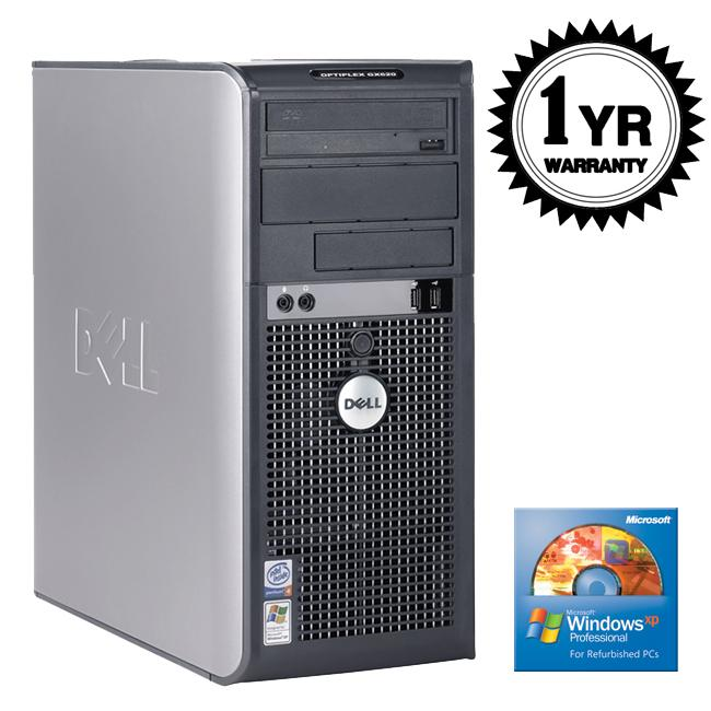 Dell OptiPlex GX620 3.4GHz 2GB 500GB Desktop Computer (Refurbished)