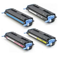 HP Q6000A, Q6001A, Q6002A, Q6003A Color Toner (Remanufactured)