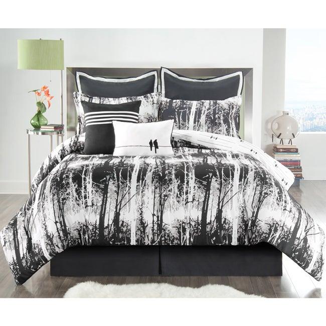 Woodland Reversible 8-piece Comforter Set