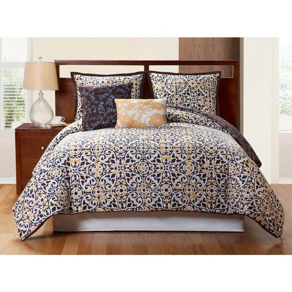 Sahara 4-piece Reversible Comforter Set