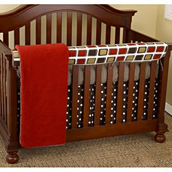 Cotton Tale Houndstooth 4-piece Crib Bedding Set