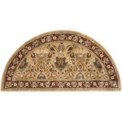 Safavieh Handmade Persian Legend Ivory/ Rust Wool Rug (2' x 4' Hearth)