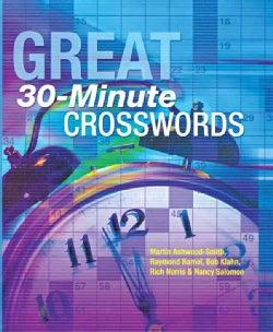 Great 30-Minute Crosswords (Spiral bound)
