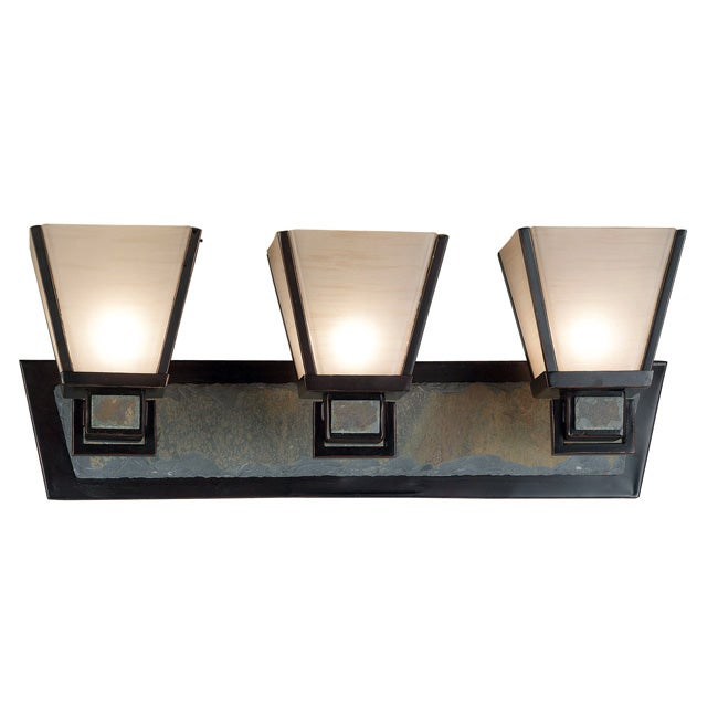 Paxton 3-light Vanity - Overstock Shopping - Top Rated Design Craft Sconces & Vanities