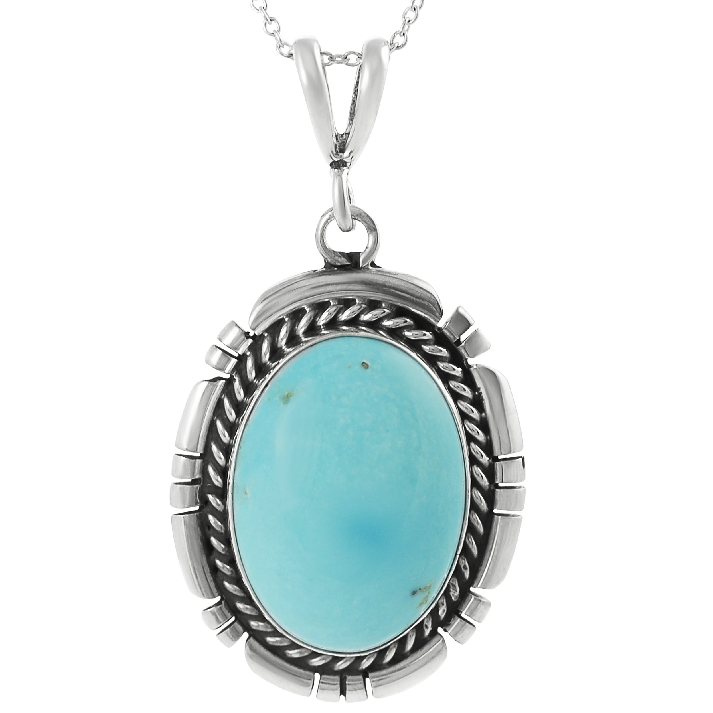 journee collection sterling silver genuine turquoise