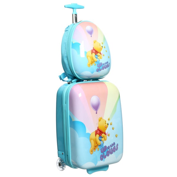 Disney by Heys 'Winnie the Pooh in Clouds' 2 Piece Carry On Luggage Set
