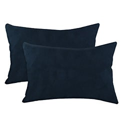 Slam Dunk Navy Simply Soft S-backed 12.5x19 Fiber Pillows (Set of 2)