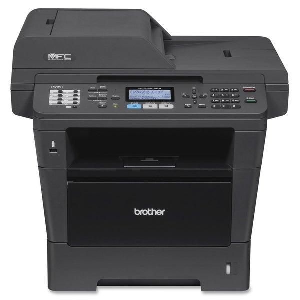 Brother MFC-8910DW Laser Multifunction Printer - Monochrome - Plain P