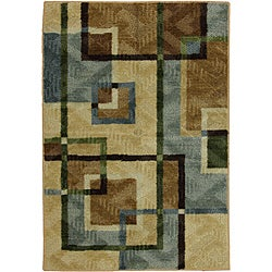 City Burrows Multi Accent Rug (2'6 x 3'10)