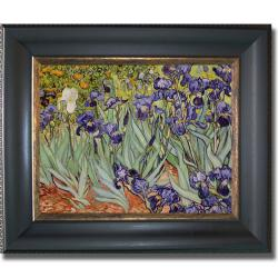 Vincent Van Gogh 'Irises' Large Framed Canvas Art