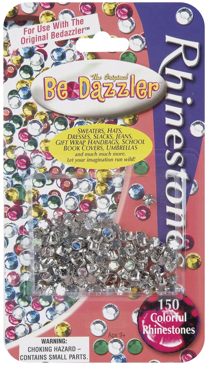 Be Dazzler Rhinestone Refill 150/Pkg-Assorted Colors