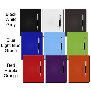 Premium 360-degree Folding Stand Case with Stylus Pen and Button Sticker for the iPad 3 & iPad with Retina Display