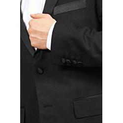 Ferrecci Men's Peak Lapel Slim Fit Tuxedo