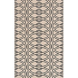 Soho Chic Ivory Wool Rug (9'6 x 13'6)
