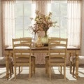 ETHAN HOME Carlingford Buttermilk 7-piece Country Dining Set