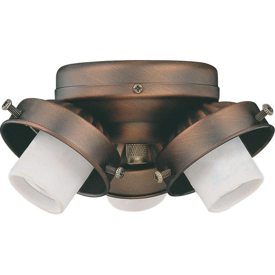 Three Light Oil Brushed Bronze Turtle Light Kit