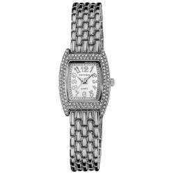 Vernier Women's Silver Tone Classic Feminine Quartz Watch