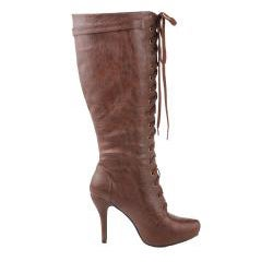 Modesta by Beston Women's 'Paris-02' Brown Knee-high Boots
