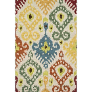 Hand-tufted Montague Multi Wool Rug (7'10 x 11)