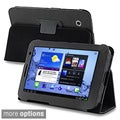 INSTEN Black Leather Tablet Case Cover for Samsung Galaxy Tab 2 P3100/ P3110/ 7-inch