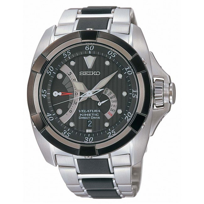 Seiko Men's Velatura Kinetic Drive Watch