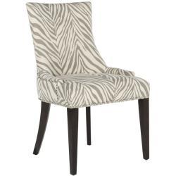 Safavieh 'Becca' Zebra Grey Dining Chair