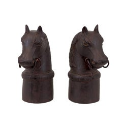 Resin Horse Bookend (Set of 2)