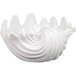 Urban Trends Ceramic Seashell White