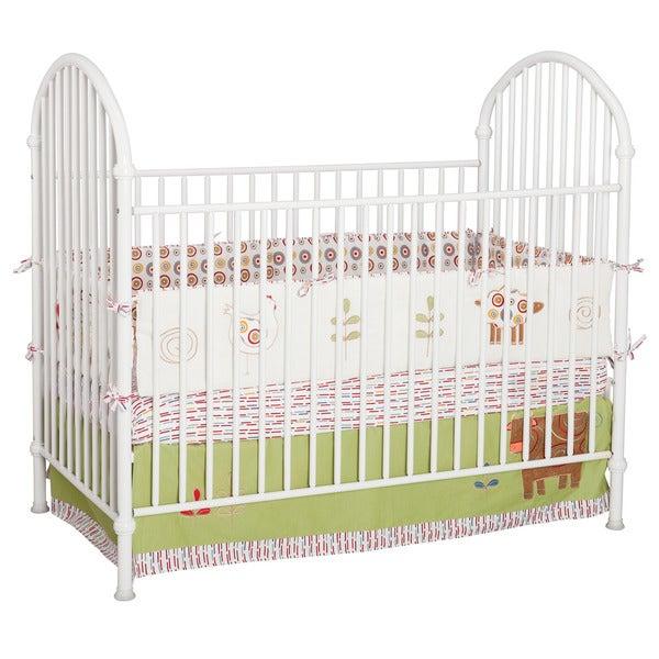 Delta White Metal Crib