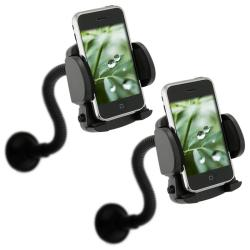 INSTEN Windshield Mounted Cell Phone Holder for Apple iPhone 5/ 5S