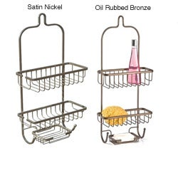 ATHome Steel Shower Caddy with Soap Dish