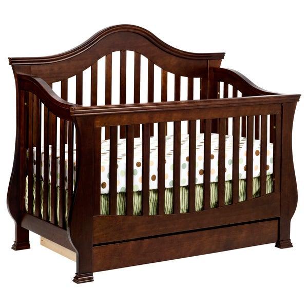 Million Dollar Baby 'Ashbury' Deep Espresso 4-in-1 Convertible Crib with Toddler Rail