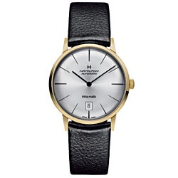 Hamilton Men's H38475751 Intra-Matic Gold Watch