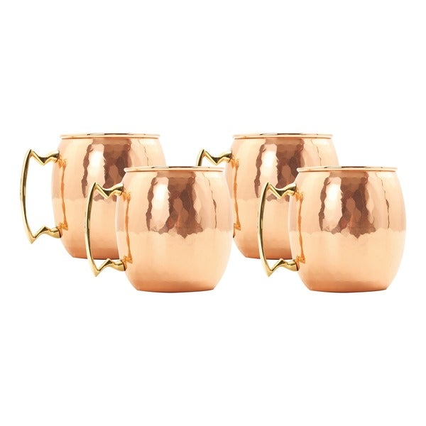 Old Dutch Hammered Copper 24-ounce Moscow Mule Mugs (Set of 4)