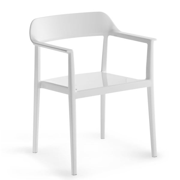 Zuo White Delight Dining Chair (Set of 4)
