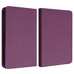 INSTEN Purple Leather Swivel Phone Case Cover for Google Nexus 7